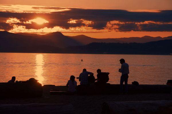Sunset @ English Bay