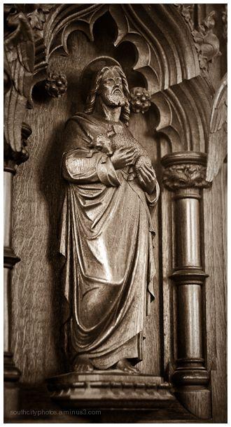church, jesus, saint john