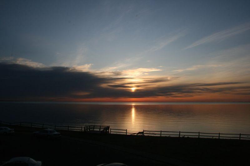 sunrise at Point Beach Drive Milford