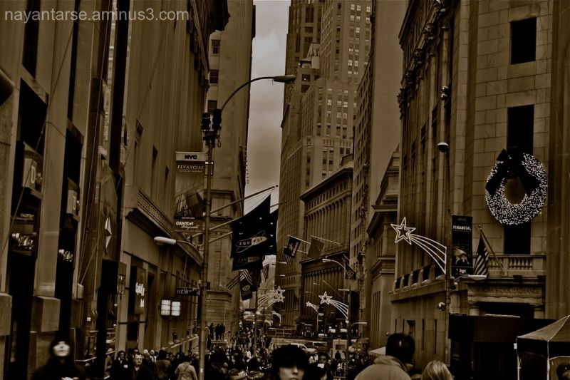 Wall Street, Christmas & NYC
