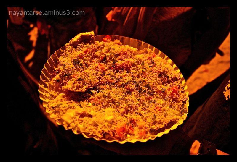 Masala papad, a crunchy spicy Indian starter