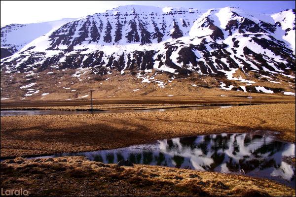 Siglufjördhur, mountain, iceland