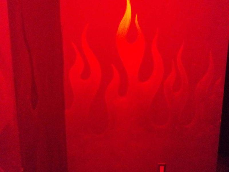 fire hallway