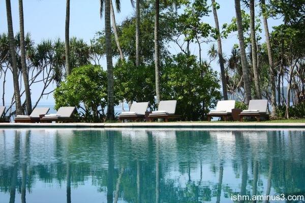 pool reflection