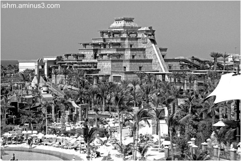Aquaventure Theme Park- Atlantis Hotel, Dubai.