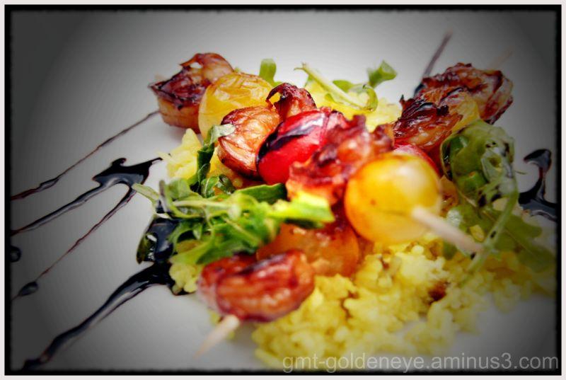 Shrimp Kebap