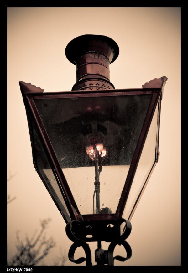 Gas Light in Phoenix Park