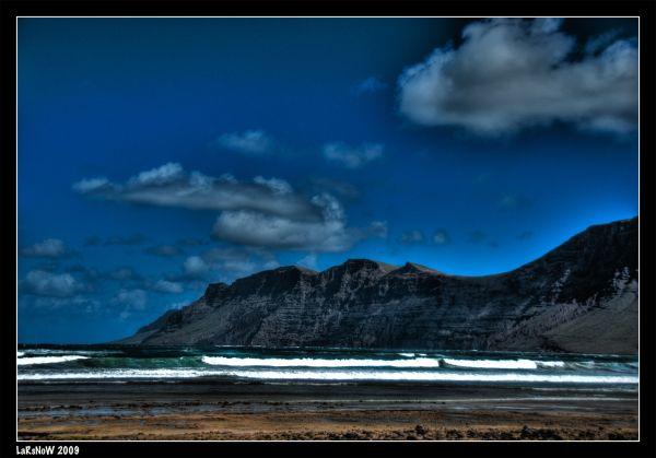 Lanzarote - Playa de Famara HDR