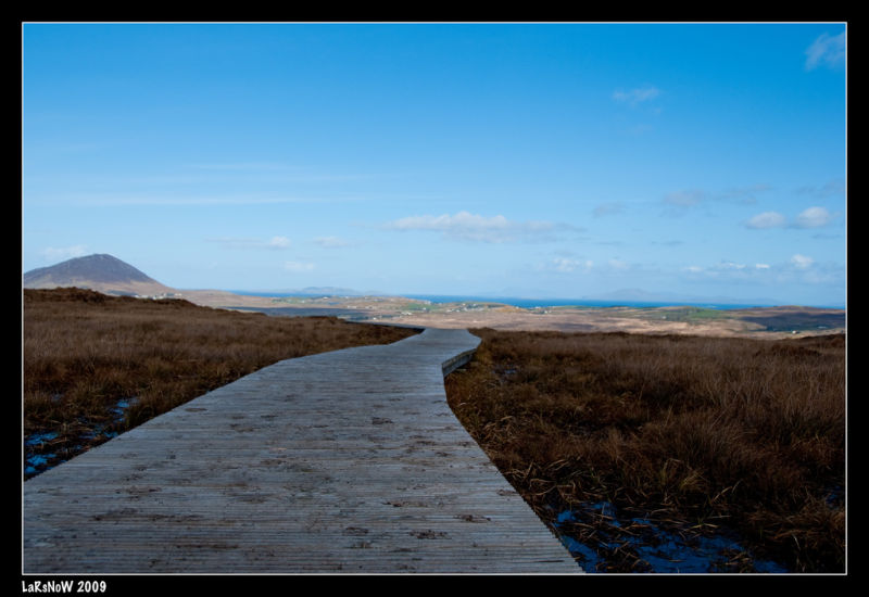 Path with no end in Connemara