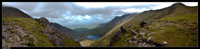 Carrauntoohil Panorama