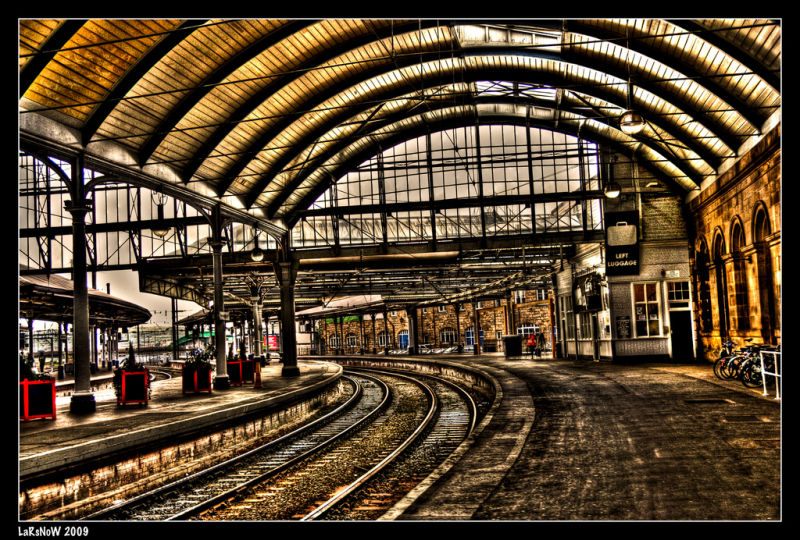 Newcastle train station - HDR