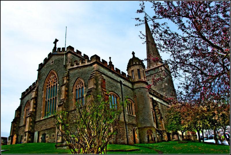 HDR Derry Church