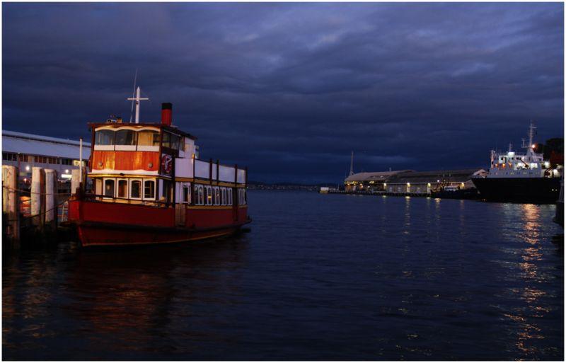 Port d'Hobart TAS Australia