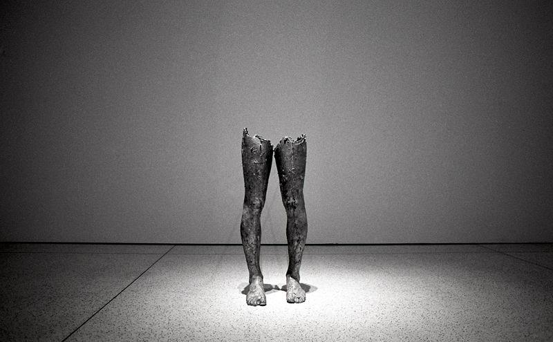 Des jambes dans l'oeil ...