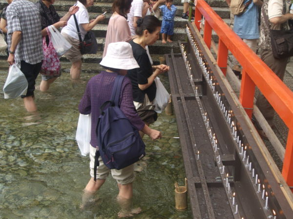 御手洗祭り Ritual For Foot Bathing #4/7