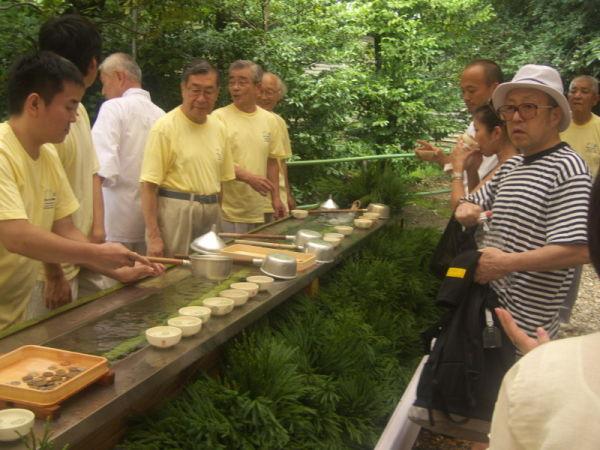 御手洗祭り ritual for foot bathing #5/7