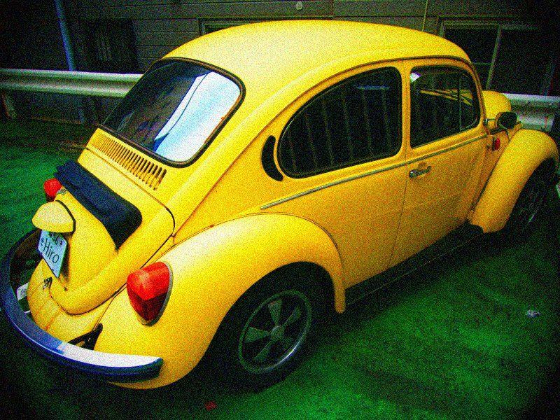 Yellow and round