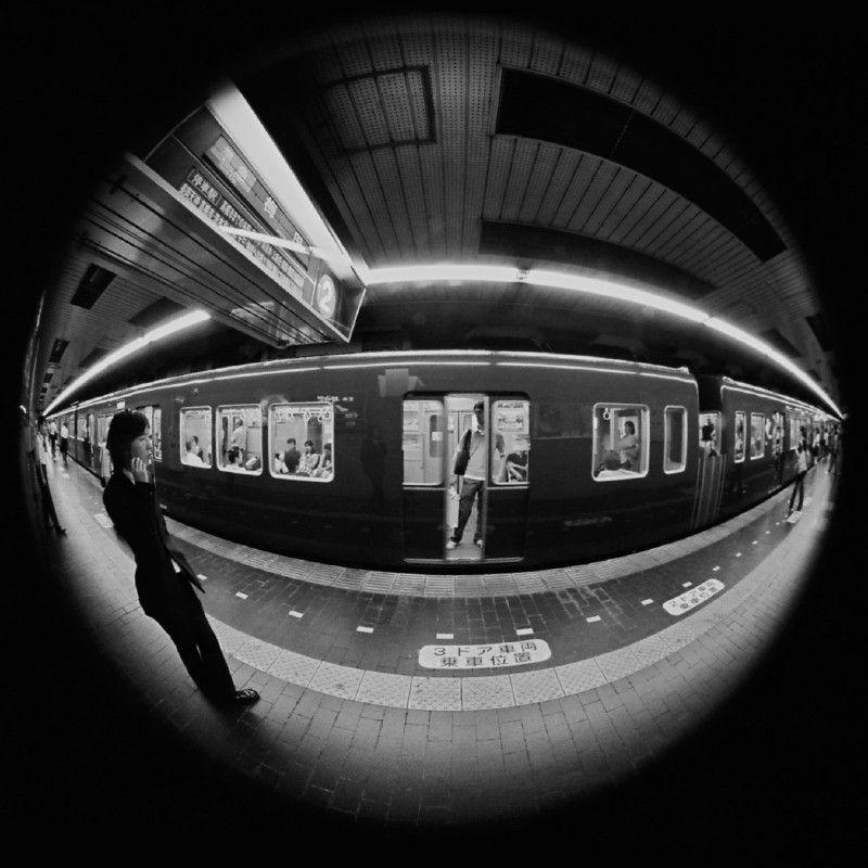 At a station #2