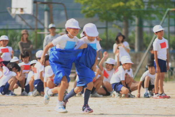 In the same big pants !  - sports day -