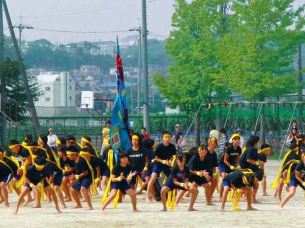 Large chatch rock dance  - sports day -