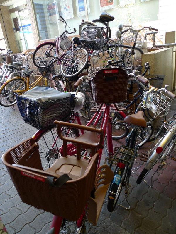 Multistoried bike-parking space