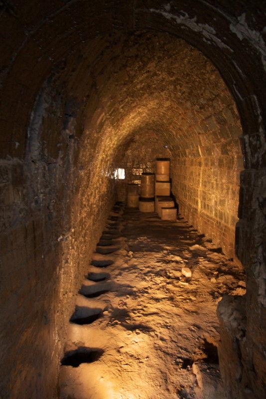 Old kiln, inside