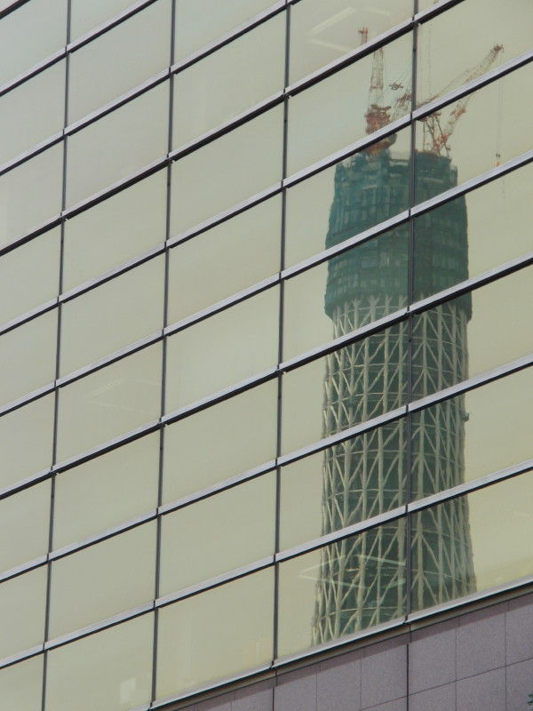 Reflection of the Tokyo Sky Tree #1