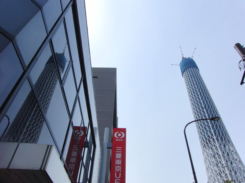 Reflection of the Tokyo Sky Tree #4