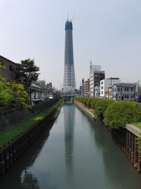 Reflection of the Tokyo Sky Tree #6