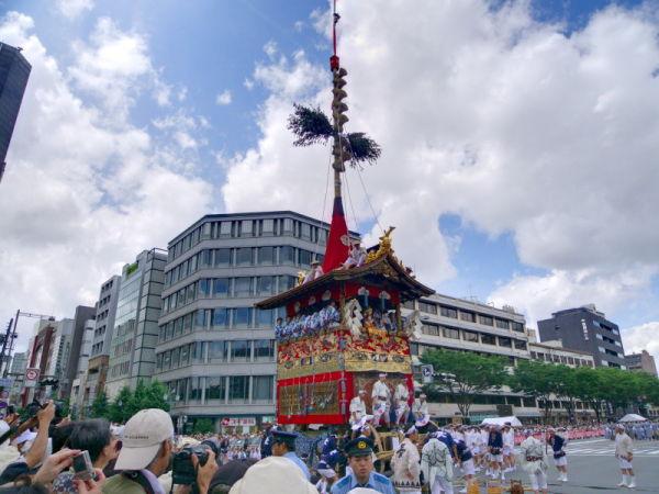 Gion Festival; the Parade #1
