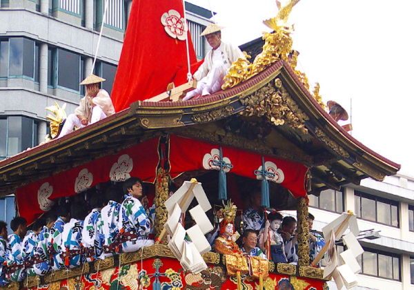 Gion Festival; the Parade #3