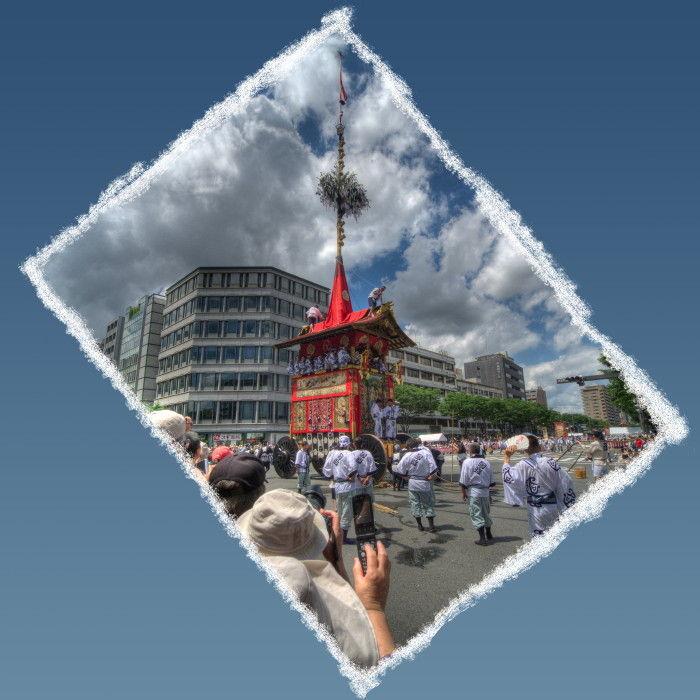 Gion Festival; the Parade #4