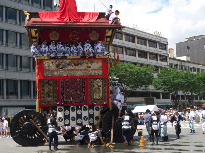 Gion Festival; the Parade #6