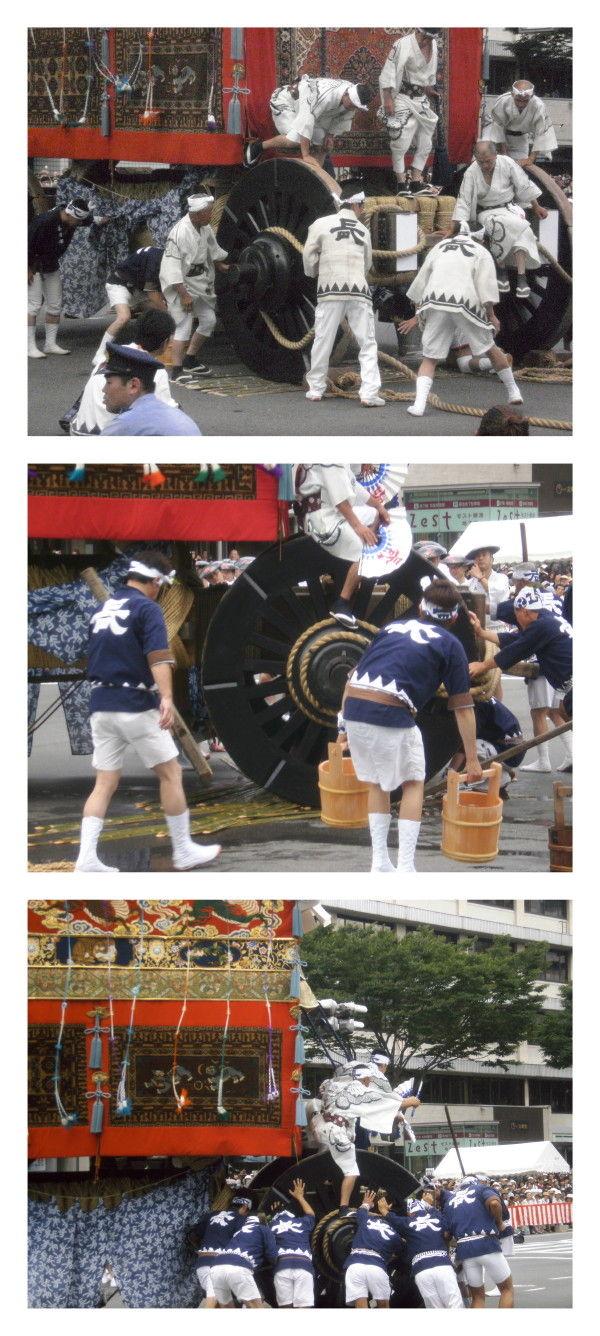 Gion Festival; the Parade #8