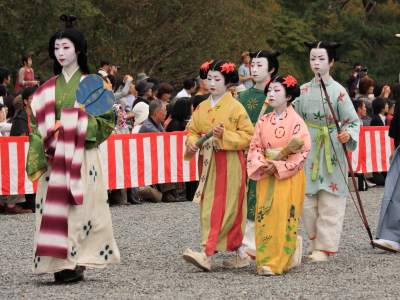 Beauties in Jidai Matsuri #7