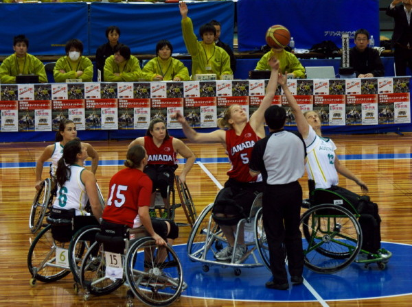 Wheelchair Athletes #1  Play the game !