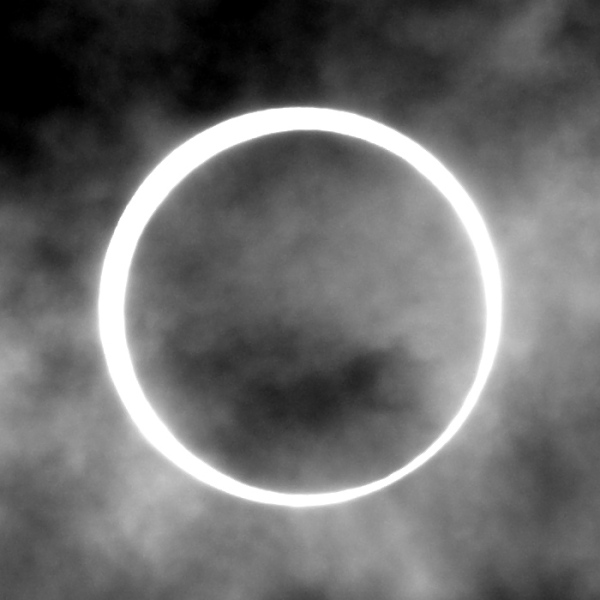 金環食 annular eclipse May 21 Japan