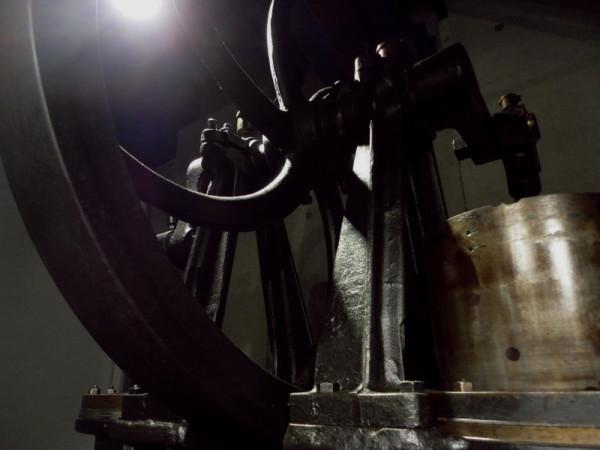 Old cast-iron machine