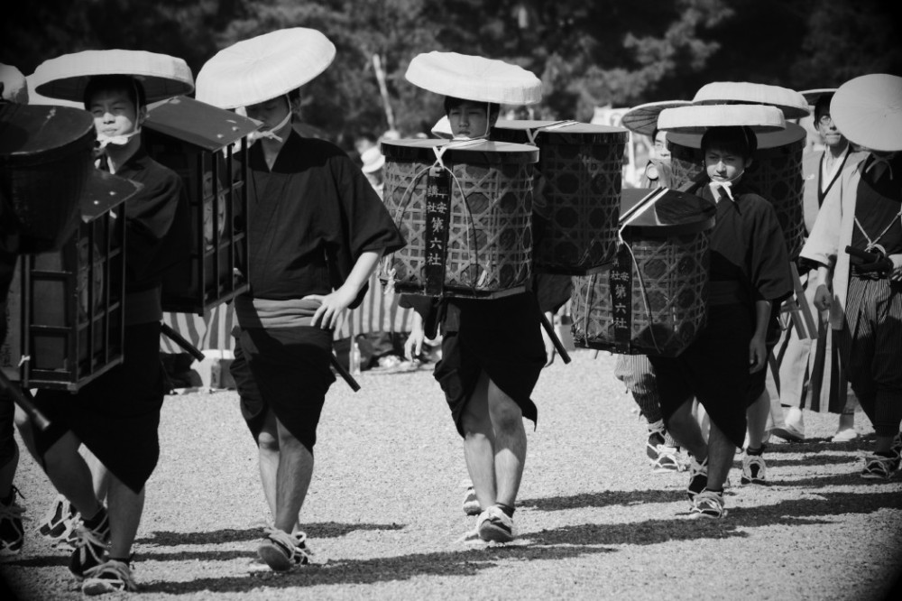 The procession of Shogun's deputy