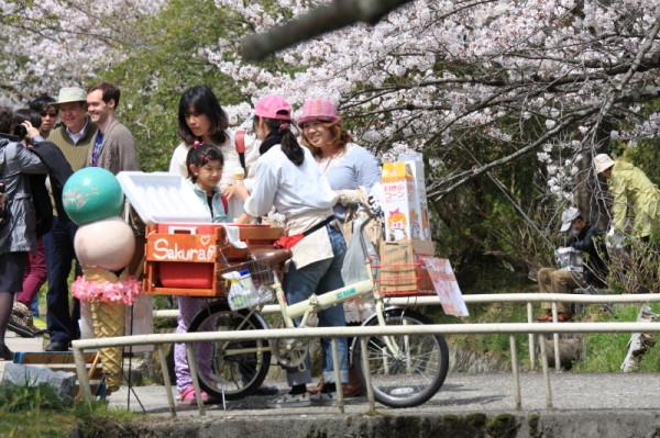 Sakura ice cream !