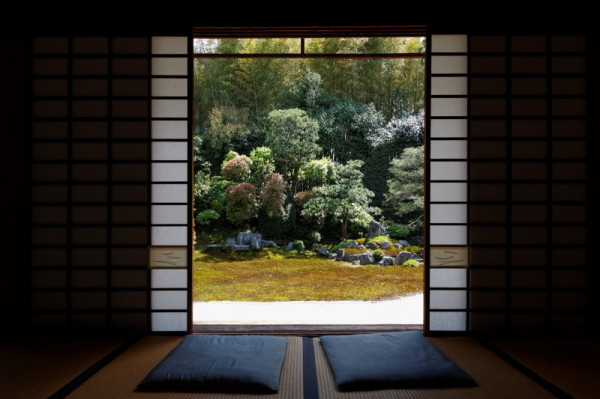 garden view from a tatami room #1