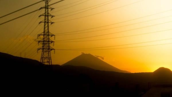 Fuji from Shinkansen #1
