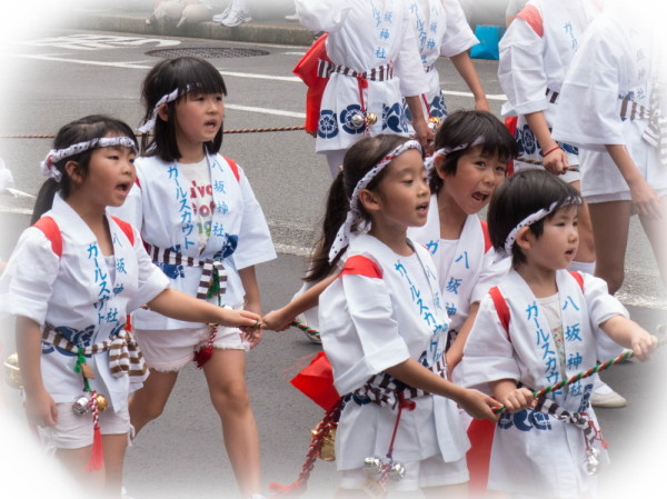 Girls in the parade #4
