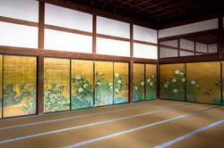 Fusuma paintings