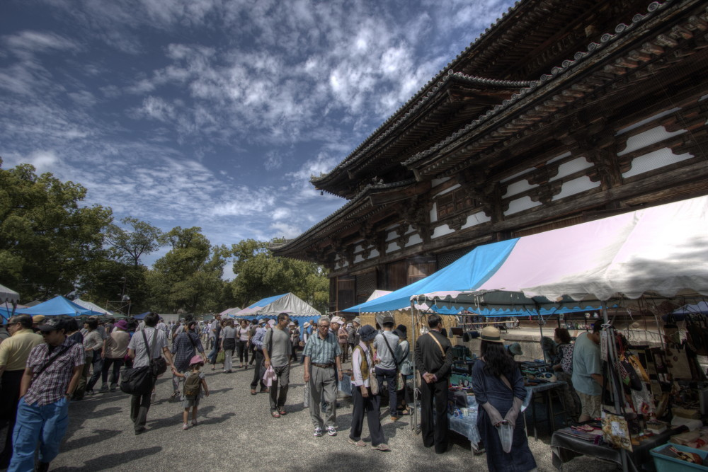 bazaar  at temple site #2