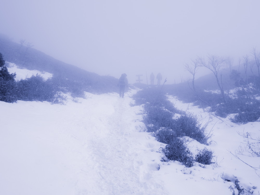 snow hike #12