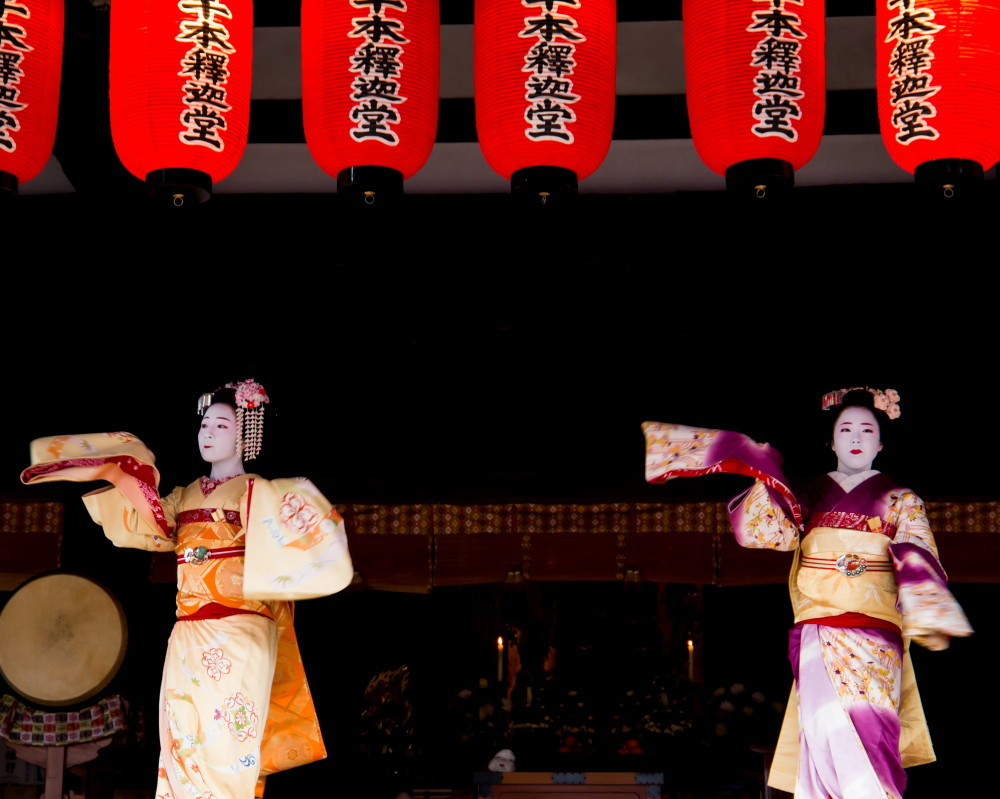 Dance offered to Buddha #4