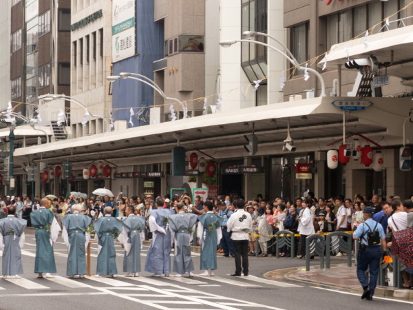 祇園祭 注連縄切り #1