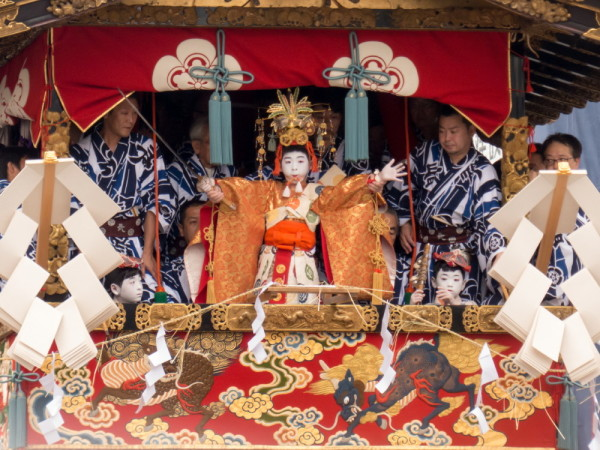 祇園祭 注連縄切り #4