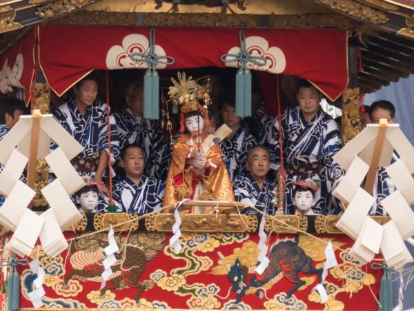 祇園祭 注連縄切り #5